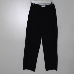everlane women black wool pant SZ 4